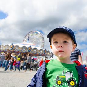 Overwhelmed at the County Fair by Chris Couper - Babies & Children Children Candids ( jack carp fair )