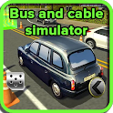 Bus and cable simulator icon