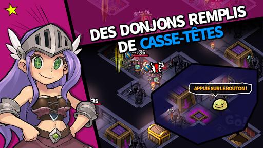 Guerriers BoumBoum - Puzzle RPG  captures d'écran 1