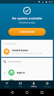 Avast Wi-Fi Finder Screenshot
