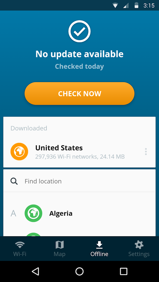 Avast Wi-Fi Finder- screenshot