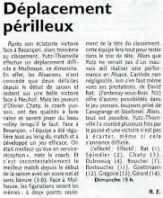 Photo: 11-12-2011 Yutz-Thionville se déplace en terre alsacienne chez le 3è