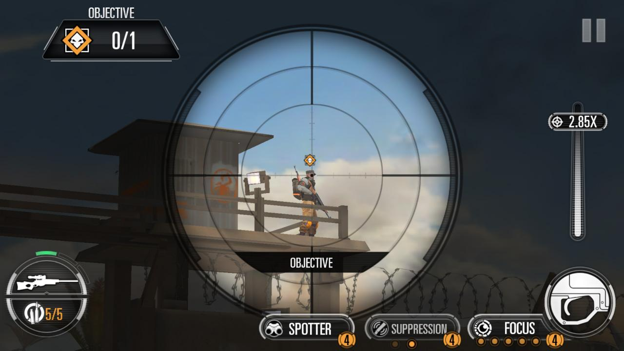 SNIPER X WITH JASON STATHAM- screenshot
