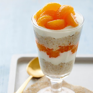 Dreamsicle Overnight Oatmeal Parfait