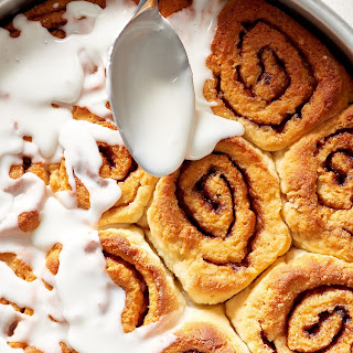 How To Make Easy Gluten-Free Cinnamon Buns from Scratch.