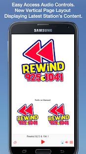 Rewind 92.5 & 104.1- screenshot thumbnail