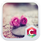 Pink Roses Theme C Launcher icon