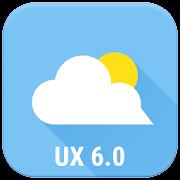 UX 6.0 G6 theme for Chronus Weather Icons