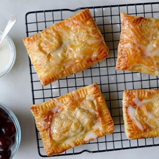 Cherry Cream Cheese Breakfast Pastries.
