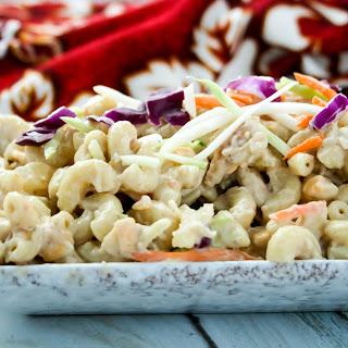 Coconut Adobo Macaroni Salad