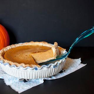 Pumpkin Pie Or Better Yet Grateful Pie