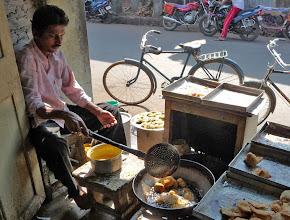 Photo: Street Deep Fry Murud Maharashtra India STREET FOOD The Staple Of India & Sri Lanka 10 Minute Video Montage http://www.youtube.com/user/Sufibooks#p/a/u/0/iobh2V1Rq6Q