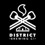 Logo for District Brewing