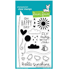 Lawn Fawn Clear Stamps 4X6 - Hello Sunshine