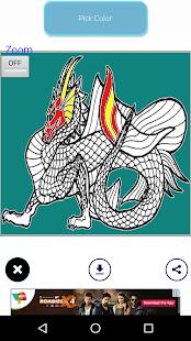 Download Dragon Coloring Book Free