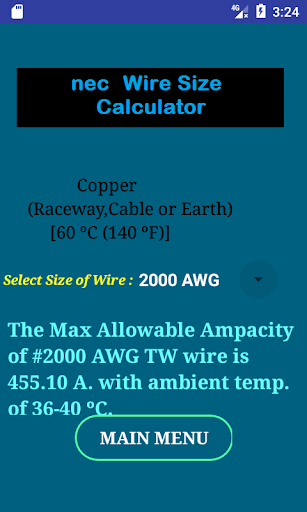 Nec wire size calculator free apk 106 download only apk file for nec wire size calculator free keyboard keysfo Choice Image