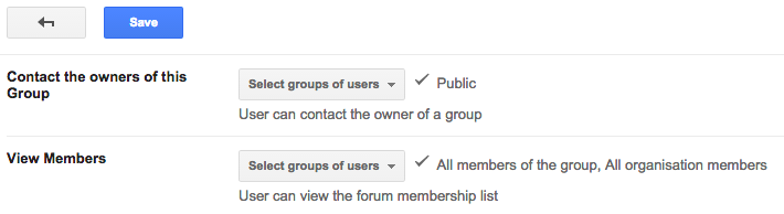 Groups Directory, now the perfect tool to manage your Google
