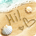 Draw Write on Sand icon