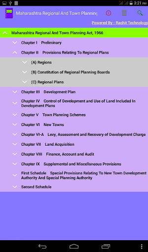 Maharashtra Town Planning Act