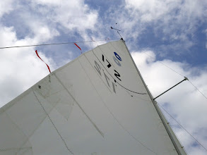 Photo: A new Performance Mainsail from North Sails on our O'Day 20