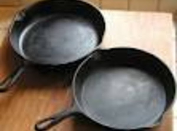Curing A Cast Iron Skillet Recipe