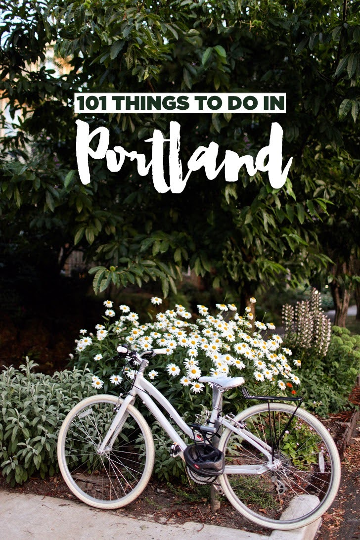 101 Fun Things to Do in Portland Oregon - Ultimate PDX Bucket List // localadventurer.com