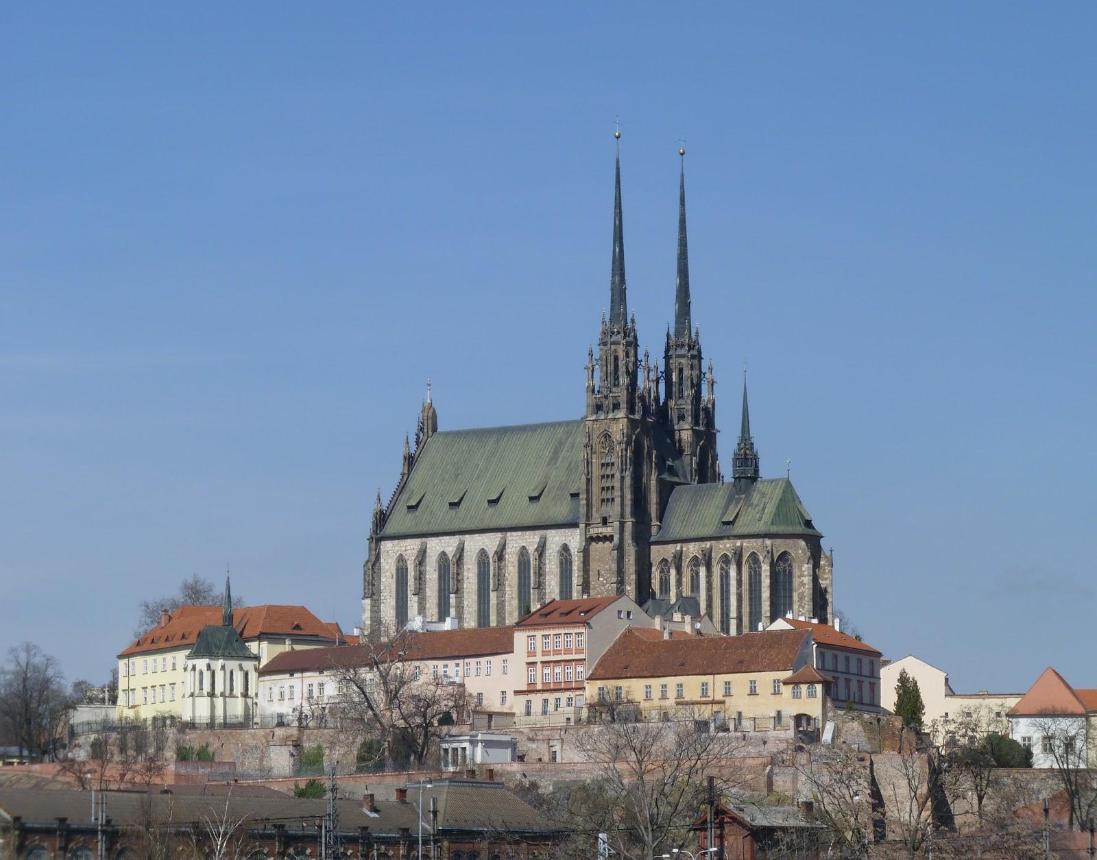 Brno, Katedrála sv. petra a ...