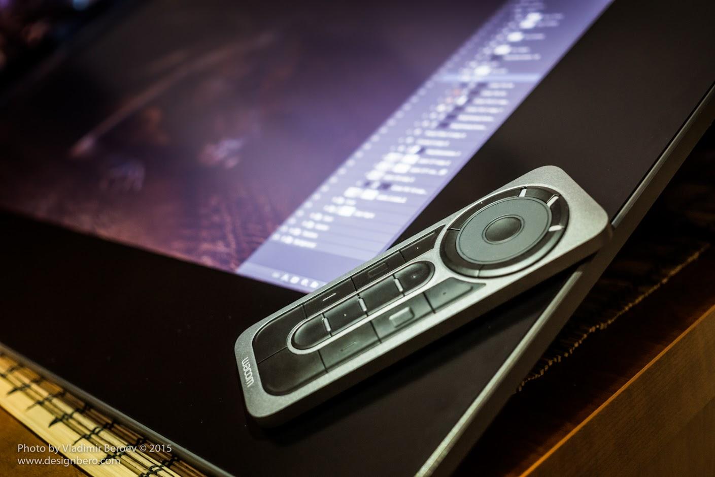 Обзор планшета Wacom Cintiq 27 QHD Touch.