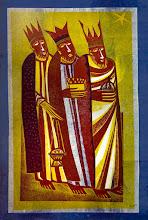 Photo: ilustracion de Carpentier, un pintor dominico francés (una de los Reyes Magos)