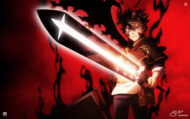 Black Clover HD Wallpapers New Tab