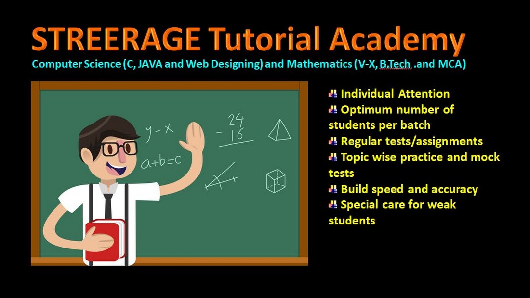 Streerage Tutorial Academy (Mathematics & Computer Science