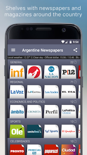 Argentine Newspapers- screenshot thumbnail