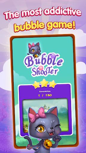 Crazy Cat Bubble Games  screenshots 1