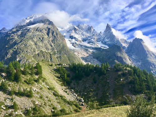 Best Hikes in Europe for Long Distance Hiking Trails // France Tour du Mont Blanc Photo Christa Linn LeGrande-Rolls