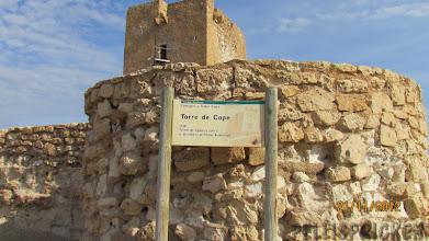 Photo: Här finns även ett torn byggt 1539 för bevakning av kusten
