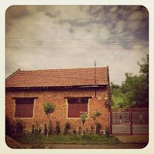 Photo: Romanian Country House (credit Flavia G.) #intercer #romania #country #house #clouds #rural #beautiful #life #gate #red #orange #peace #silence #trees #bricks - via Instagram, http://ift.tt/1vuMl3a