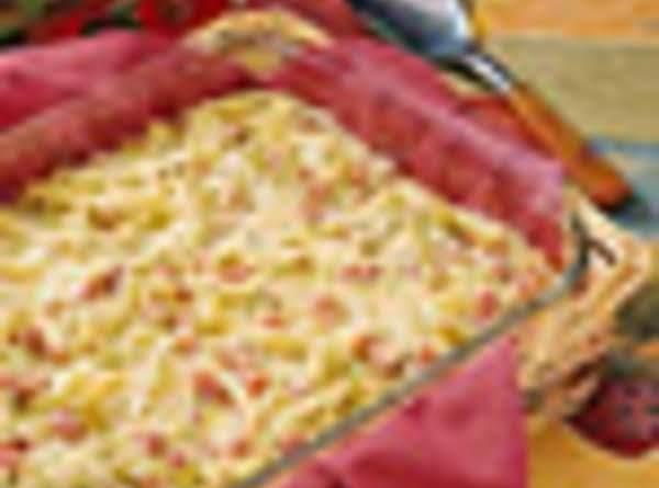 Ham And Swiss Linguine Recipe