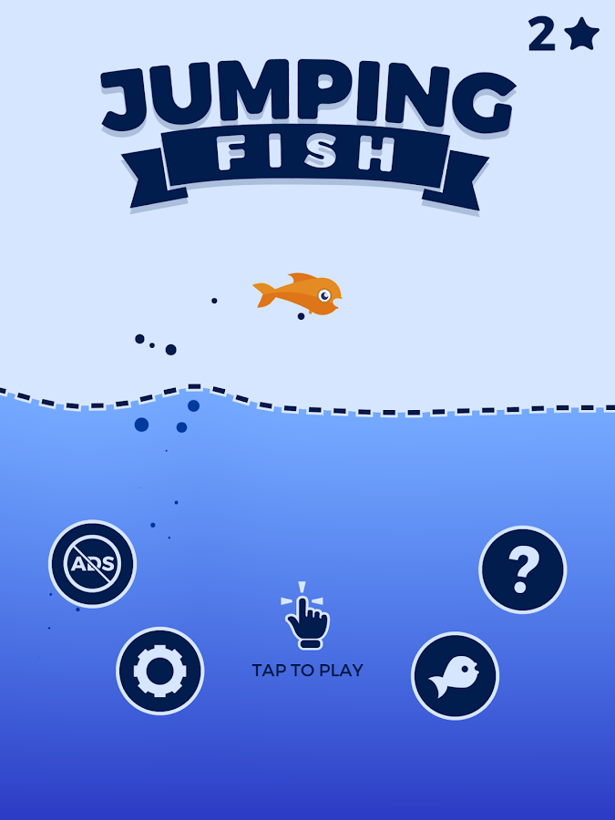Jumping Fish- screenshot