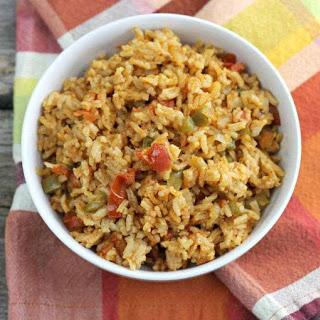 Baked Spanish Rice.
