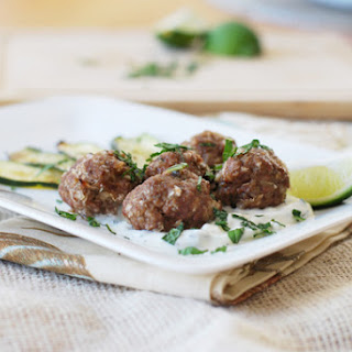 Spiced Lamb Meatballs.