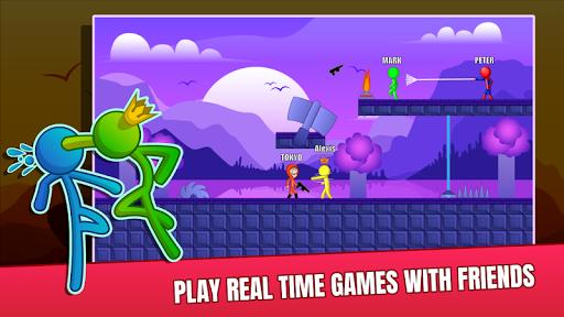 Stick Fight Online: Multiplayer Stickman Battle 2.0.17 screenshots 2