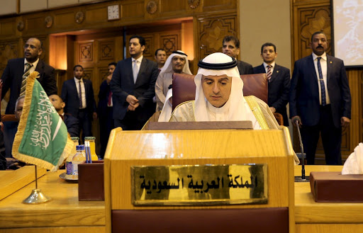 Saudi Foreign Minister Adel al-Jubeir attends the Arab foreign minister's meeting at the Arab League in Cairo, Egypt.  Picture: REUTERS