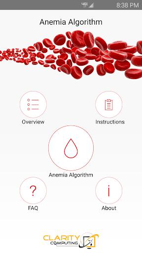 Anemia Algorithm