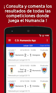 C.D. Numancia App - No Oficial - náhled