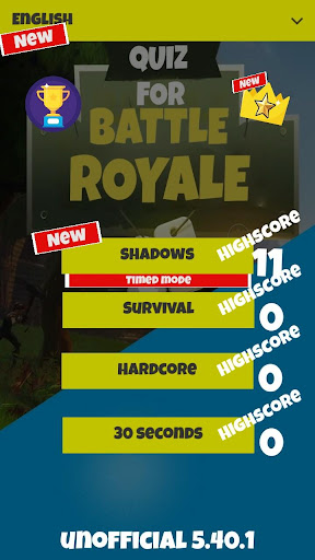 QUIZ for Battle Royale (Unofficial) 5.40.2 {cheat|hack|gameplay|apk mod|resources generator} 1