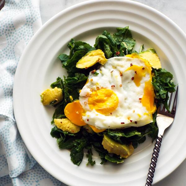 Quick Breakfast Salad Recipe
