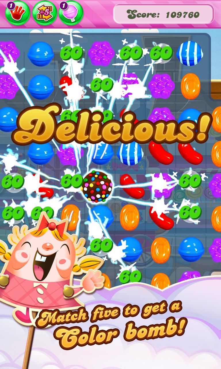 Candy Crush Saga screenshot #1