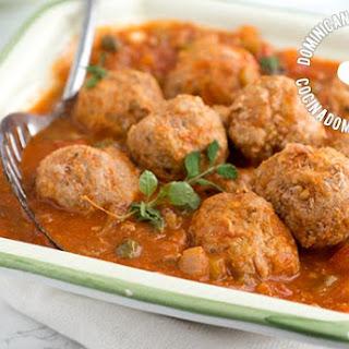 Albóndigas de Res Recipe (Dominican Meatballs)