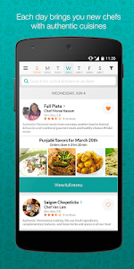 Taro - food and meal delivery screenshot 0