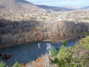Photo: French Broad River and Hot Springs, NC